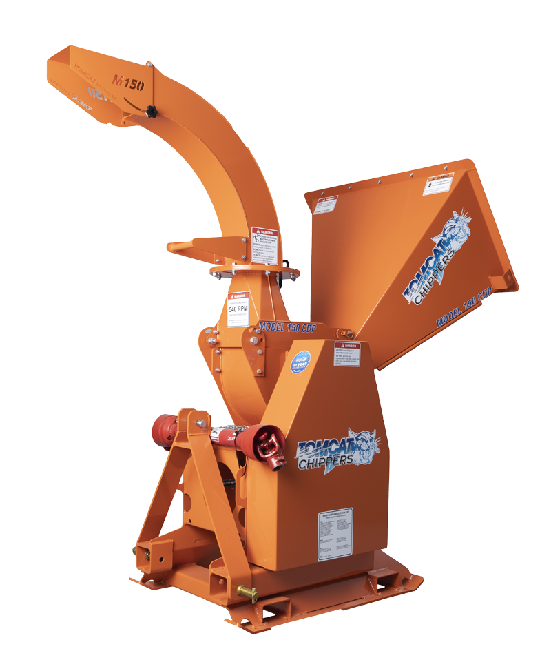 MODEL 150 CDP Wood Chipper - Tomcat Chippers