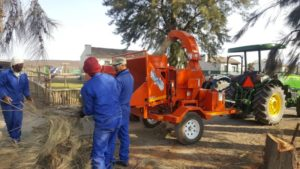 TOMCAT PTO Wood Chippers Option 3 - High Speed Trailerized Option
