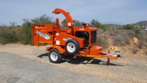 TOMCAT Hand-fed Model 250 AFE (10 inch) Hydraulic Feed Wood Chipper Western Cape South Africa