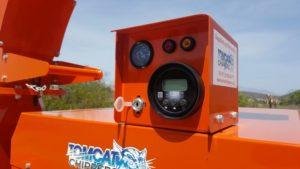 TOMCAT Hand-fed Model 250 AFE (10 inch) Hydraulic Feed Wood Chipper Western Cape South Africa