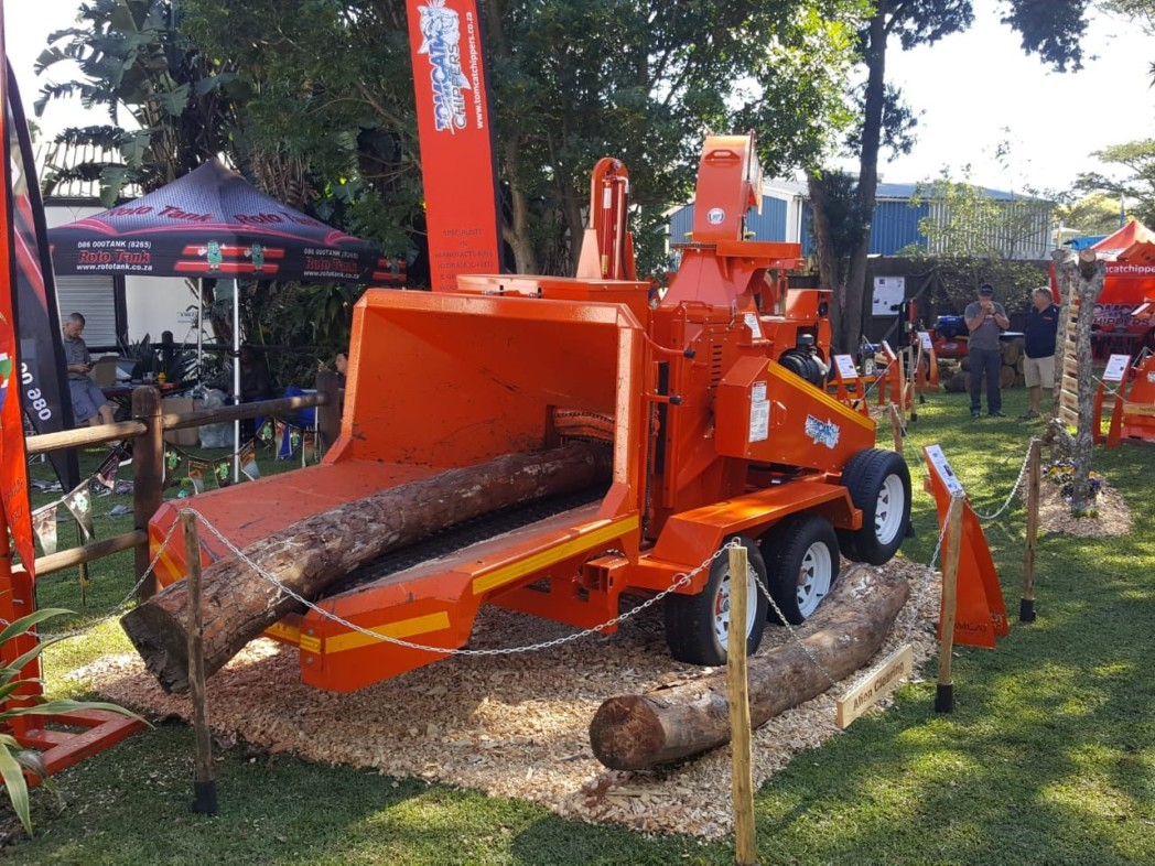 TOMCAT Wood Chippers at the annual Royal Show in Pietermaritzburg, KZN 2...(1)