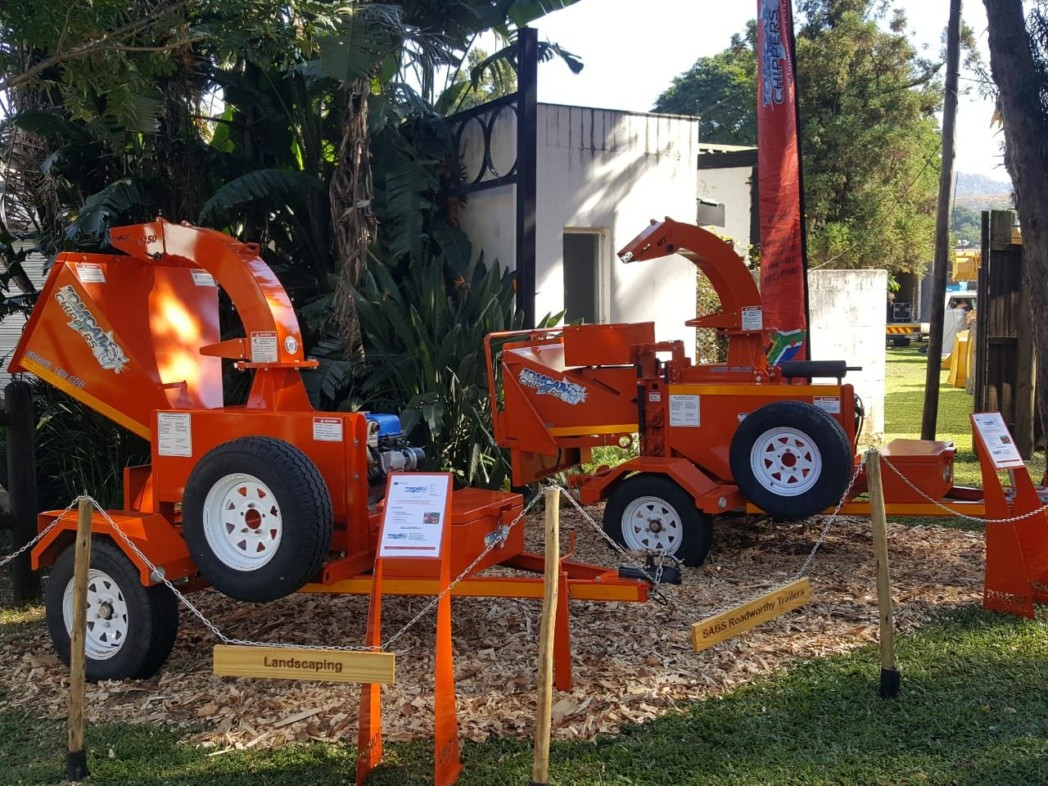 TOMCAT Wood Chippers at the annual Royal Show in Pietermaritzburg, KZN 2...(1)(1)(1)