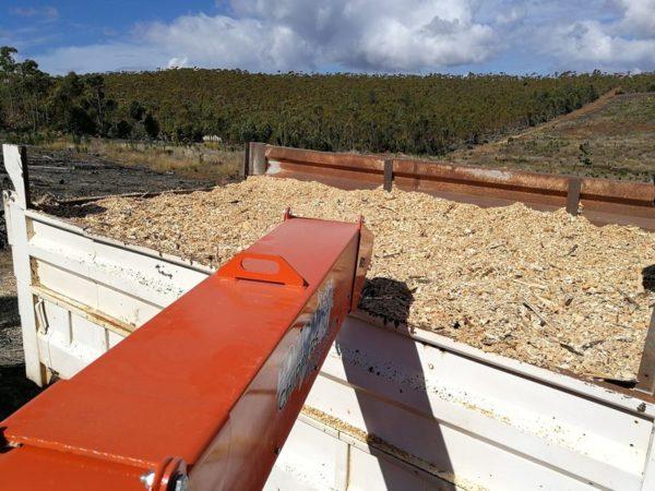 M375AFE wood chipper