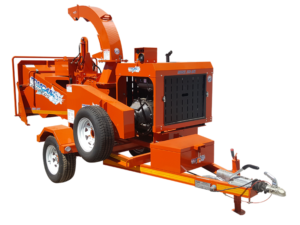 engine driven wood chipper product