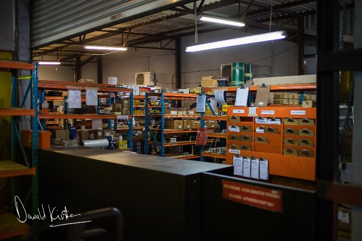 The parts store to supplies parts directly to clients and the manufacturing plant