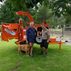 TOMCAT Wood Chipper Model 250 AFE for Fred the Treefeller (1)